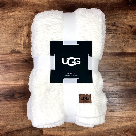 UGG Other - UGG Olympia Chenille Knit Throw Blanket